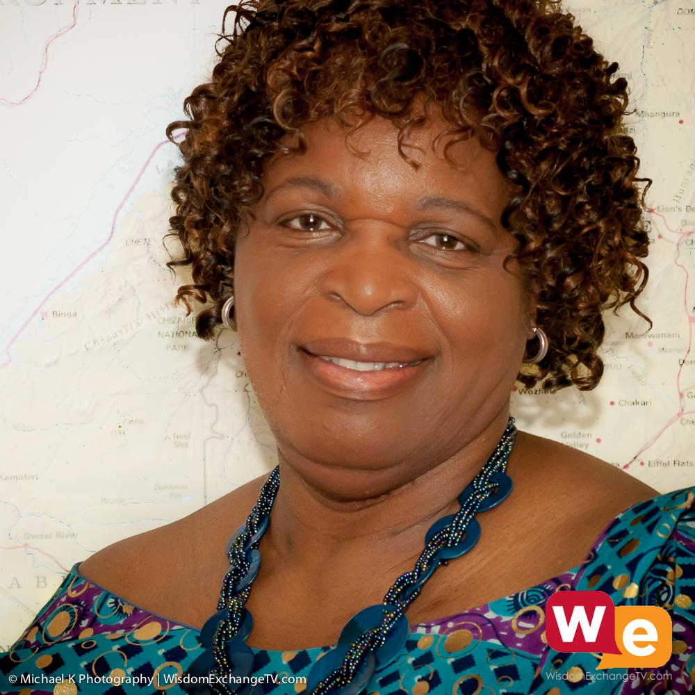 Wisdom Exchange TV guest Florence Zano Chideya from Zimbabwe